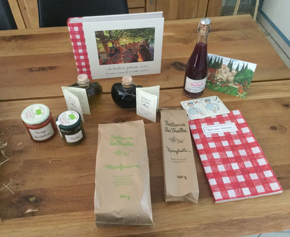 Gifts from La Vialla