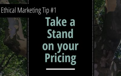 Ethical marketing tip #1: Use rounded numbers instead of charm prices.