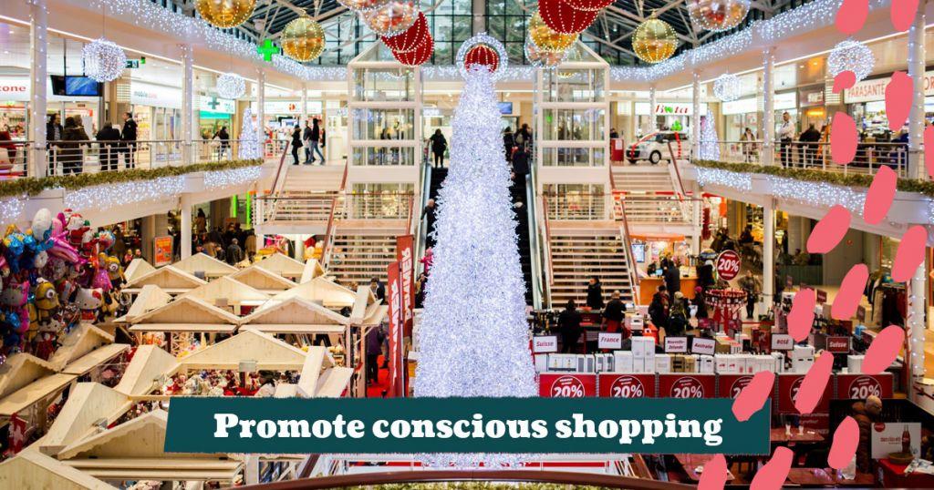 Promote Conscious Shopping