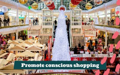 How to inspire others to shop consciously this holiday season